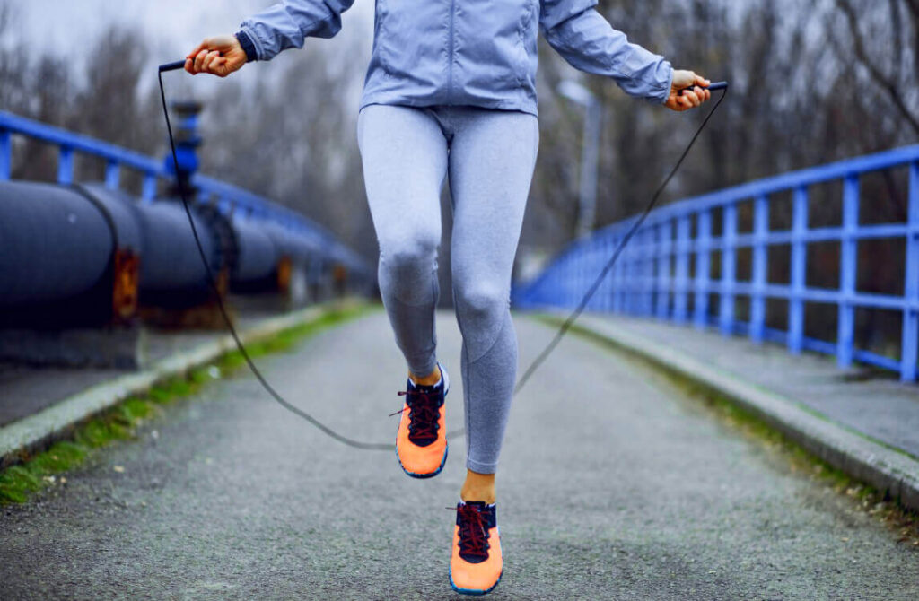 Jump rope exercise