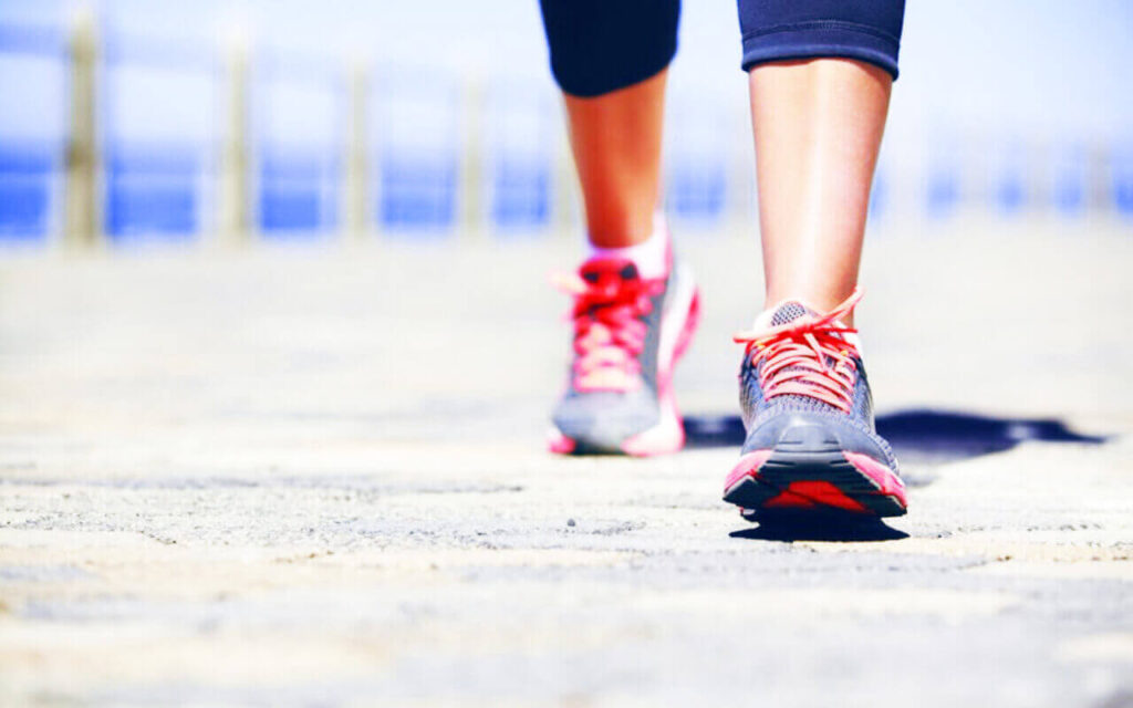 Running for beginners - invest in a good pair of running shoes